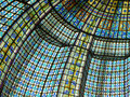 Paris beautiful color of stained glass windows Royalty Free Stock Images