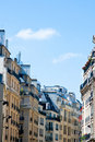 Paris beautiful old buildings Royalty Free Stock Images