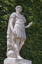 Paris - Caesar statue from Tuileries garden Stock Photos