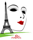 Paris cards as symbol love and romance travel Royalty Free Stock Photo