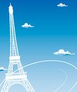 Paris cards as symbol love and romance travel Stock Photography
