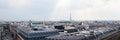 Paris city skyline Royalty Free Stock Photo