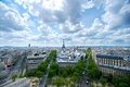 Paris cityline Royalty Free Stock Photography