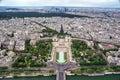 Paris cityscape Stock Photos
