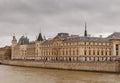 Paris. Conciergerie. Pont Neuf. Royalty Free Stock Photo