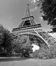 Paris Eiffel Tower France Stock Images