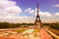 Paris Eiffel Tower Royalty Free Stock Photo