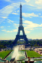 Paris eiffel tower tour in Stock Images