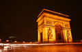 Paris etoile Royalty Free Stock Images
