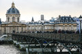 Paris fluss Stockbild