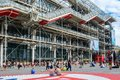 The Museum of Modern Art or Pompidou Centre in Paris Royalty Free Stock Photo