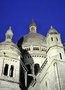 Paris - France Basilique Du Sacre Coeur. Royalty Free Stock Photo
