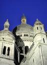 Paris - France Basilique Du Sacre Coeur. Royalty Free Stock Photo