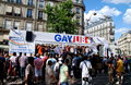Paris, France: Gay Pride Parade Royalty Free Stock Photography
