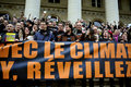 Paris France Global Warming Demonstration Royalty Free Stock Photography
