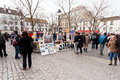 Paris france march place du tertre is central square of montmartre with many artists they offer to paint you portrait with cost Stock Image