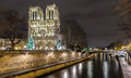 Paris france notre dame de Stock Photography