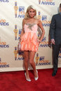 Paris hilton arriving at the mtv movie awards in universal city ca on may Stock Images