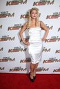 Paris hilton at kiis fm s wango tango concert staples center los angeles ca Royalty Free Stock Images