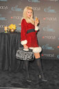 Paris hilton at the launch of siren fragrance by presented by macy s macy s store glendale ca Royalty Free Stock Photo