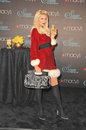 Paris hilton at the launch of siren fragrance by presented by macy s macy s store glendale ca Royalty Free Stock Photos