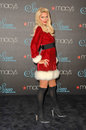 Paris hilton at the launch of siren fragrance by presented by macy s macy s store glendale ca Stock Photo