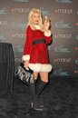 Paris hilton at the launch of siren fragrance by presented by macy s macy s store glendale ca Stock Photography
