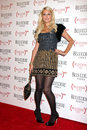 Paris hilton los angeles feb arrives at the belvedere red special edition bottle launch at avalon on february in los angeles ca Stock Photography