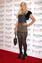 Paris hilton los angeles feb arrives at the belvedere red special edition bottle launch at avalon on february in los angeles ca Stock Photo