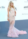 Paris hilton at the th cannes film festival amfar s th annual cinema against aids arrivals cannes france picture by henry harris Stock Image