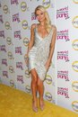 Paris hilton at the world according to premiere party roosevelt hotel hollywood ca Royalty Free Stock Images