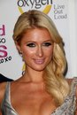 Paris hilton at the world according to premiere party roosevelt hotel hollywood ca Stock Photos