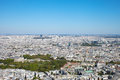 Paris in hot day france summer Royalty Free Stock Photography