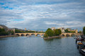 Paris Ile De La Cite Pont Neuf Royalty Free Stock Photo