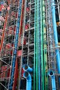 Paris july centre georges pompidou on july in paris france the postmodern structure completed in is one of most recognizable Stock Images