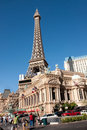 Paris Las Vegas hotel & casino Stock Images