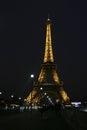 Paris Lattice tower Royalty Free Stock Photo