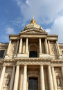 Paris les invalides a complex of buildings in france Royalty Free Stock Photography