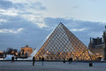 Paris - Louvre pyramid Royalty Free Stock Photography