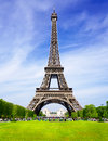 Paris love tower the best place of tourist destination in Royalty Free Stock Photography