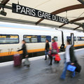 Paris north station gare du nord france serve about million per year the busiest railway in europe Stock Photography