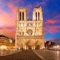 Paris - Notre Dame Royalty Free Stock Photo