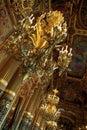 Paris opera corridor interior Royalty Free Stock Photo