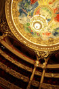 Paris opera interior Royalty Free Stock Photo