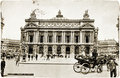 The Paris Opera Postcard Royalty Free Stock Image
