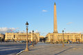Paris - Place de la Concorde Royalty Free Stock Photos