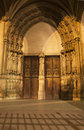 Paris - portal of Saint Germain-l'Auxerrois Royalty Free Stock Photography
