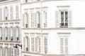 Paris real estate Royalty Free Stock Photo