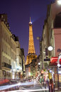 Paris rush hour Royalty Free Stock Photos