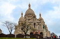 Paris sacre cœur church is located in in france Stock Image